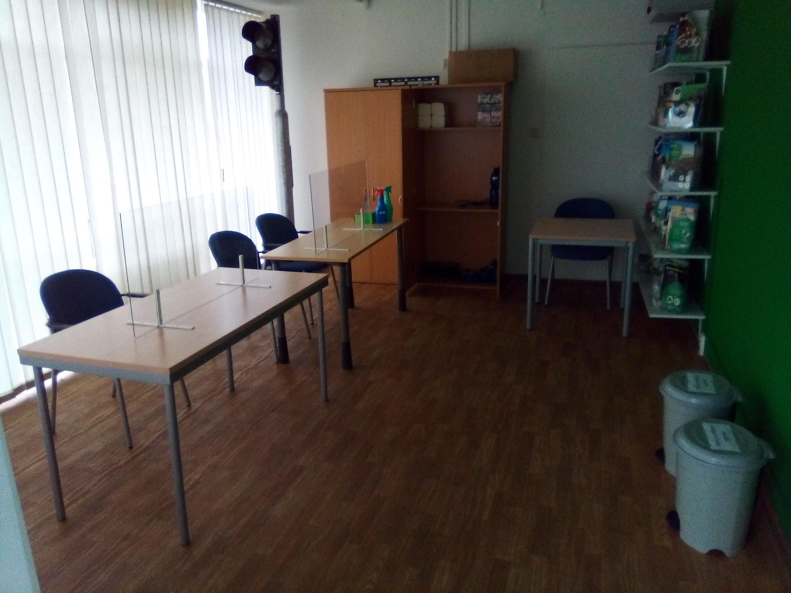 Testovací místnost
